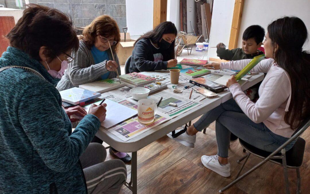 Revitalizando el territorio a través de nuestro arte indígena