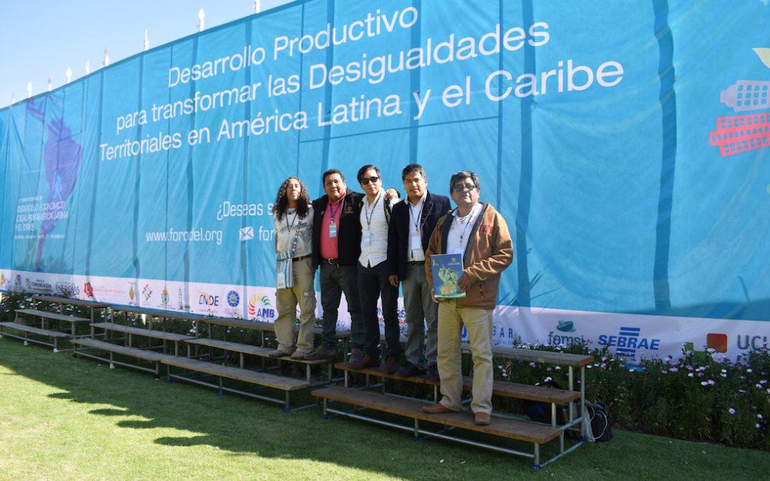 Desarrollo Productivo para transformar las desigualdades territoriales en América Latina y el Caribe, Cochabamba-Bolivia